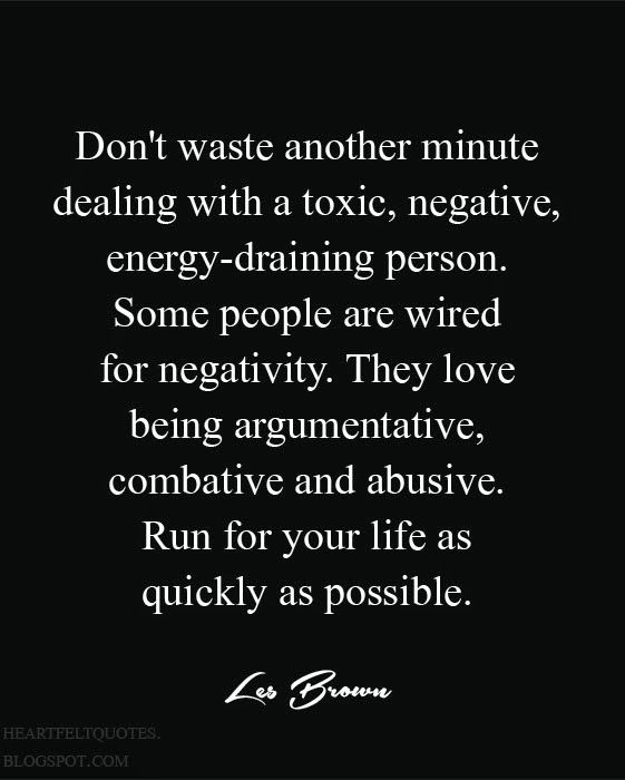 Dont Waste Your Time With Negative People Pinteresting Quotes