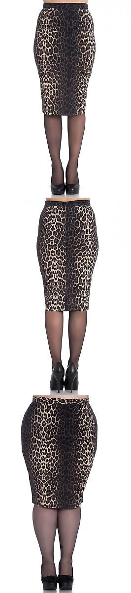 Skirts 175791  Hell Bunny Panthera 50S Leopard Pencil Wiggle Skirt -  BUY  IT NOW ONLY   24.99 on  eBay  skirts  bunny  panthera  leopard  pencil   wiggle   ... 1c1a2006a