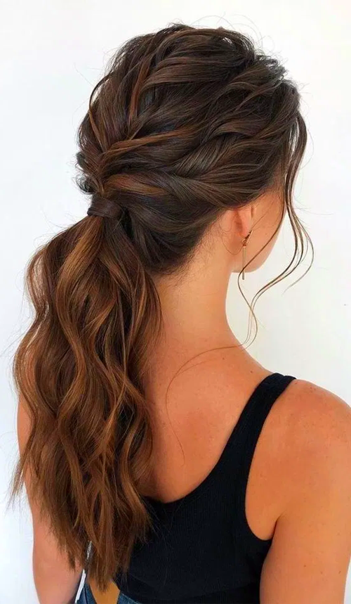 Easy Hairstyles Ponytail Hairstyles Cute Ponytail Hairstyles Easy Hairstyles