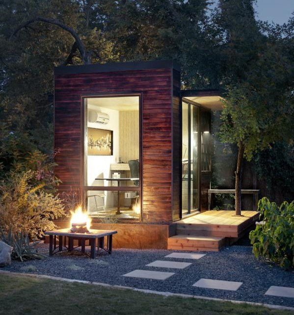 Outdoor Pod By Sett Studio Working Room For One.studio Or Office.