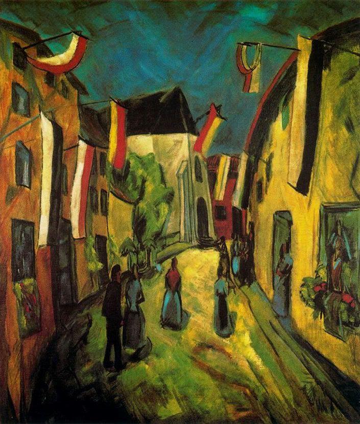 erich heckel kunstproduktion idee farbe expressionismus wandskulptur modern stillleben kunst