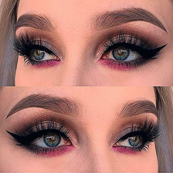 Photo of Simple eye makeup look