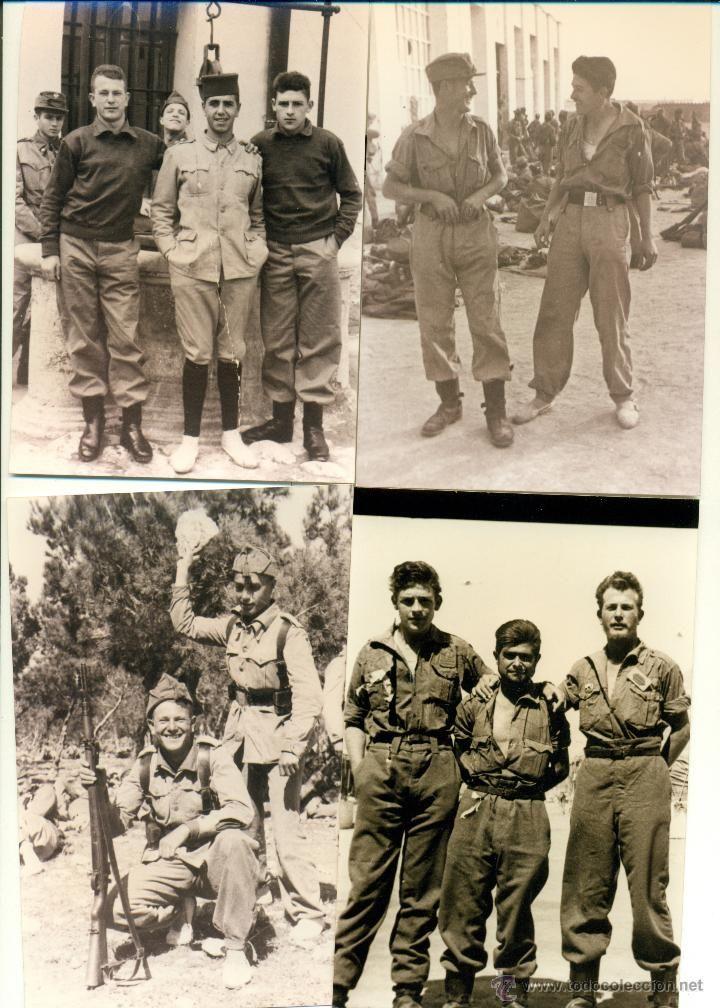 Militares Sahara Español Villa Cisneros Lote De 36 Fotos Soldado Servicio Militar Hacia 1960 Servicio Militar Militar Soldado Español