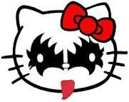 Hello kitty kiss
