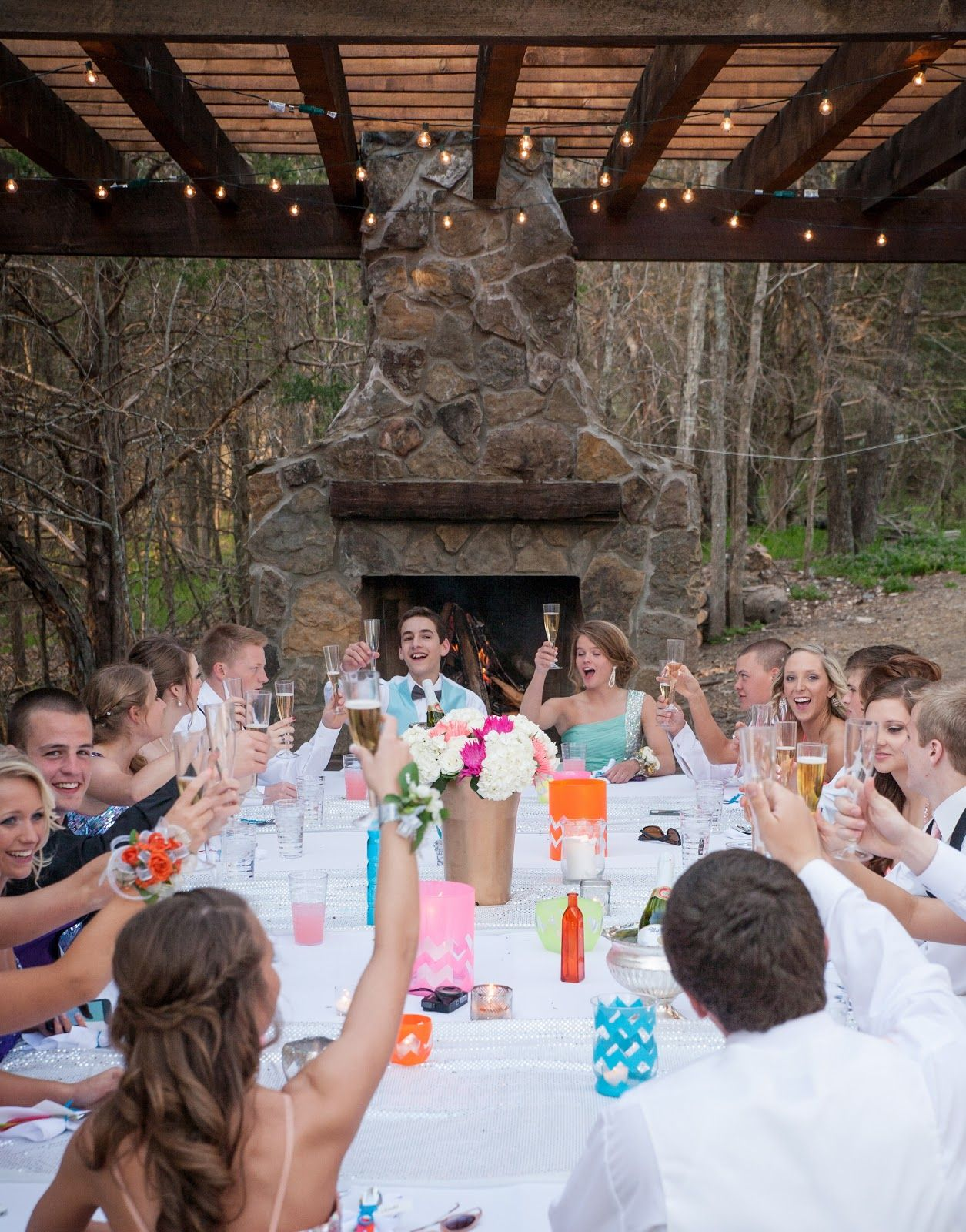 Superior Prom Dinner Party Ideas Part - 9: Abby Mitchell Event Planning And Design: Real Event: Prom Dinner Party