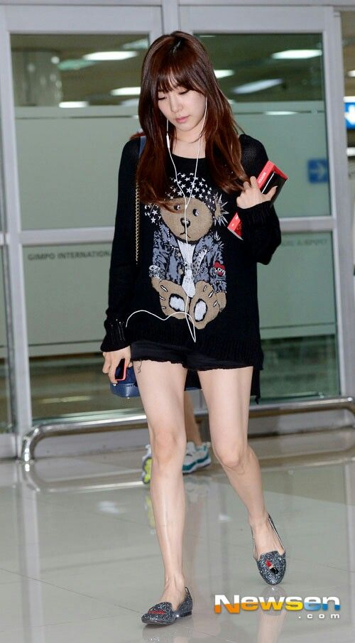 Tiffany airport fashion May 2014