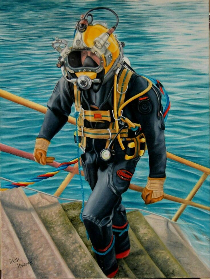 Pin on commercial diving