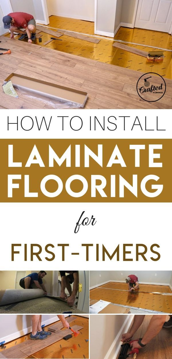 Photo of Installing Laminate Flooring For The First Time — Crafted Workshop