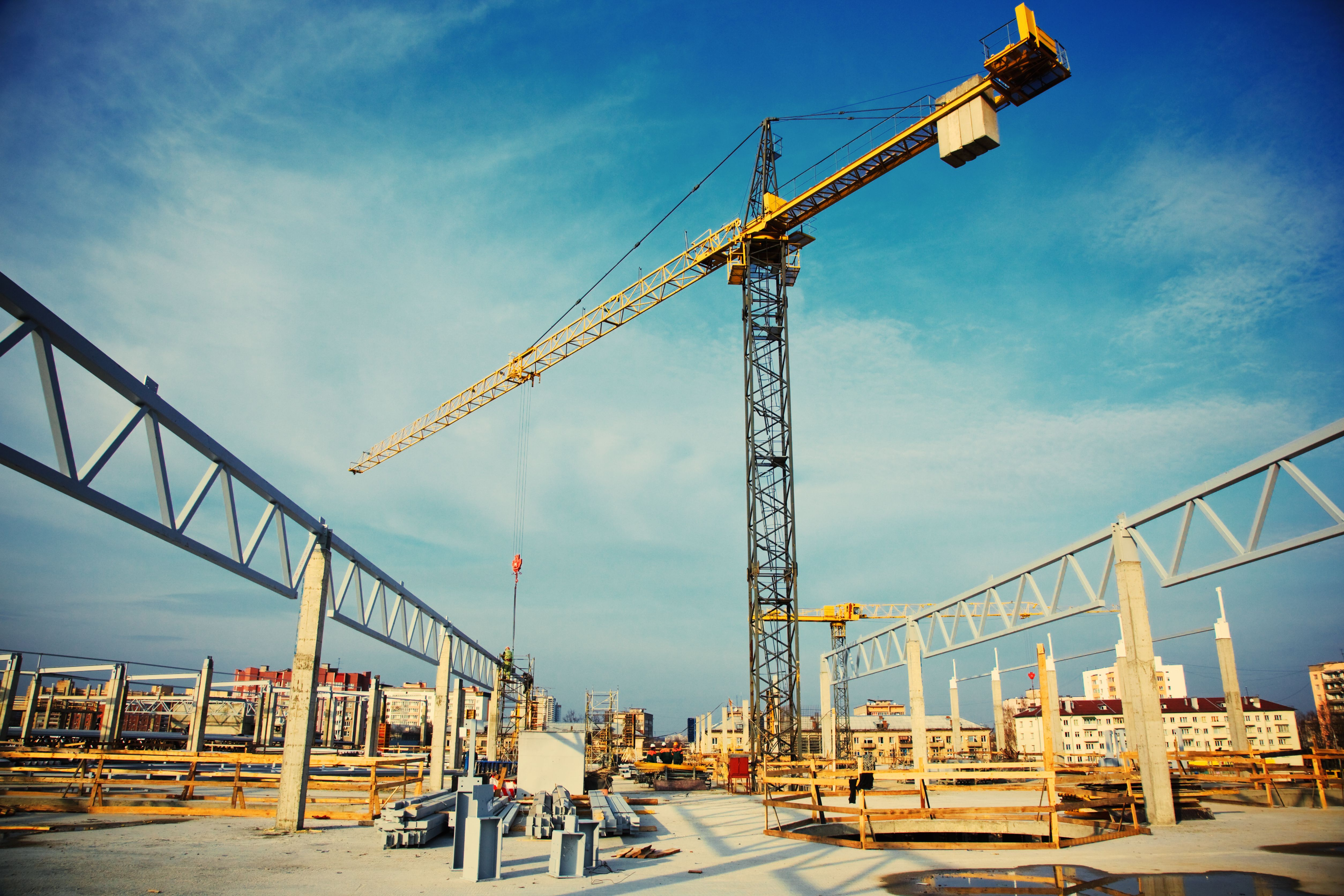 Contact construction site construction contract