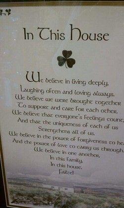 Irish remembrance Poems