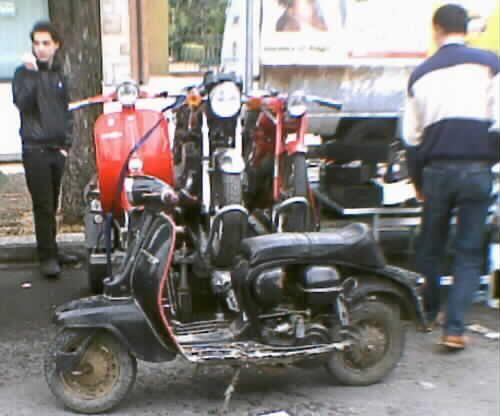 moto scooter d'epoca