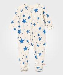 Bellybutton Jersey Blanket Light Blue Stars