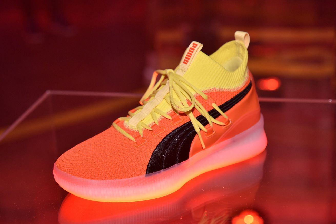 Puma releases its new basketball shoe the Clyde Court Disrupt All  sports  games and sports  HD  streaming  channels with no blackouts. ca7424006