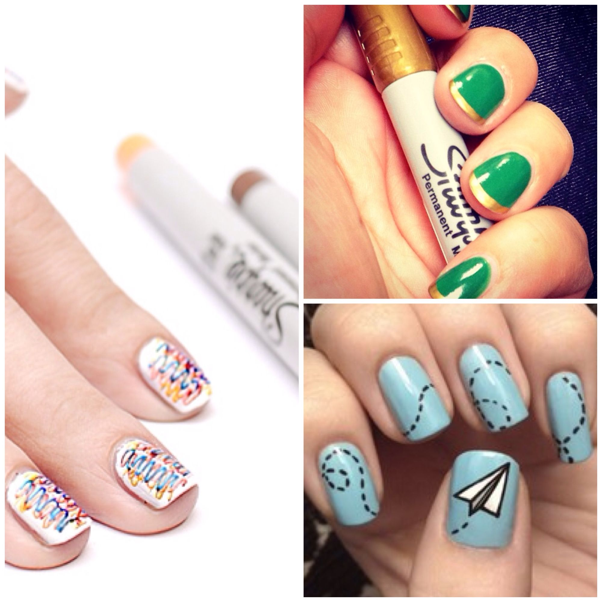 This Is One Of The Coolest Ways To Give Your Manicure A Little Pick Me Ideasdiy Nailsnail