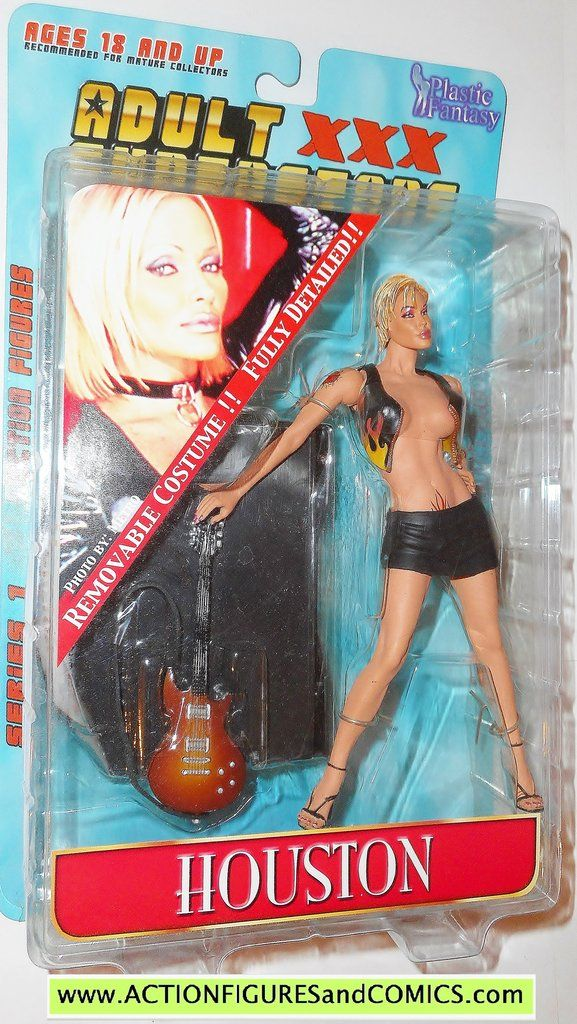adult superstars HOUSTON plastic fantasy toys action figures moc