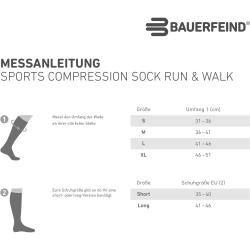 Photo of Bauerfeind compression socks Run & Walk short black 1er Bauerfeind Bauerfeind
