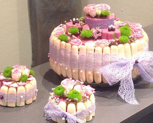 R alisations gourmandes lors d 39 une formation d 39 art floral dunkerque par daniel pichon meilleur - Decoration florale table ...
