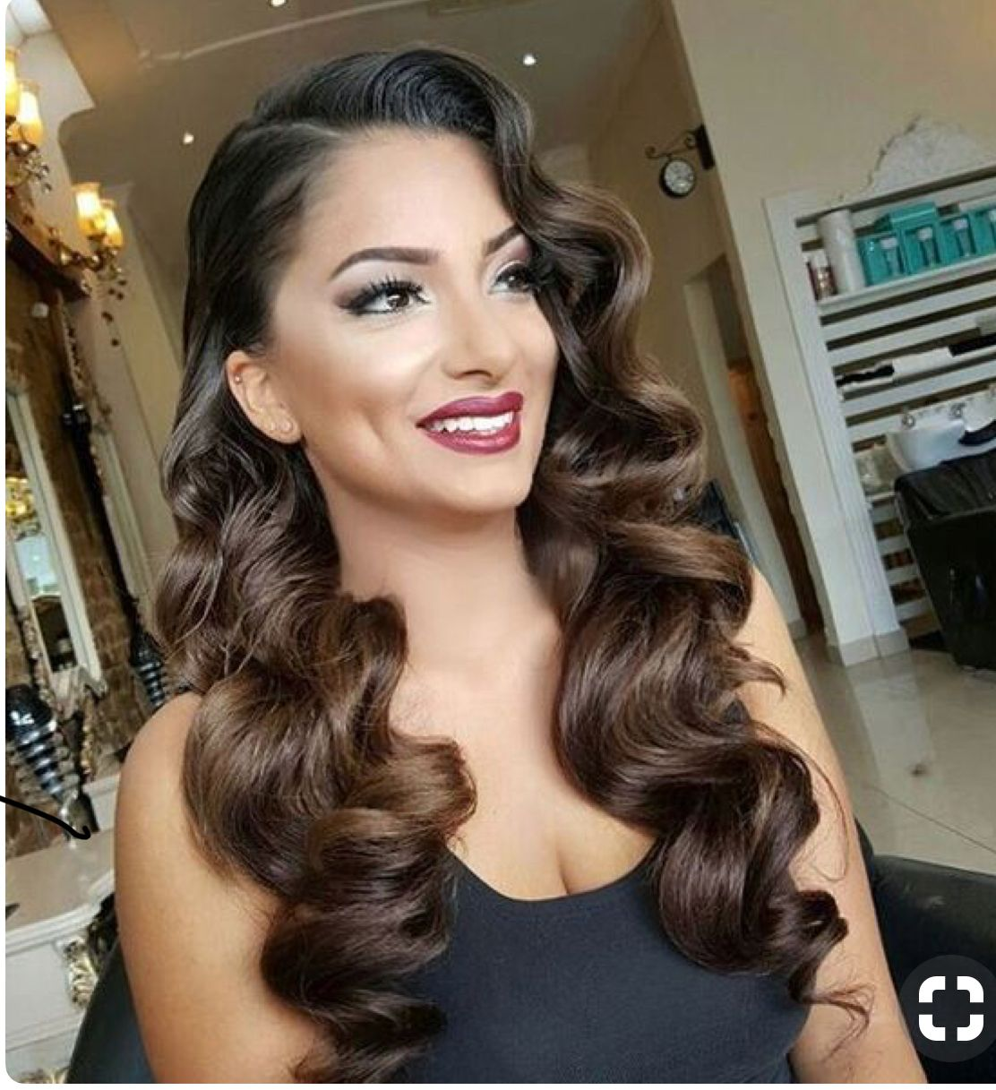 Pin By Simina Solbă On Ab Prom Hairstyles For Long Hair Vintage Hairstyles Hair Styles