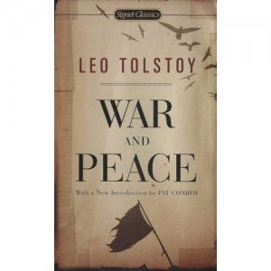 one of the most beautiful moments in my life: reading La Guerre et la Paix, from Tolstoy.