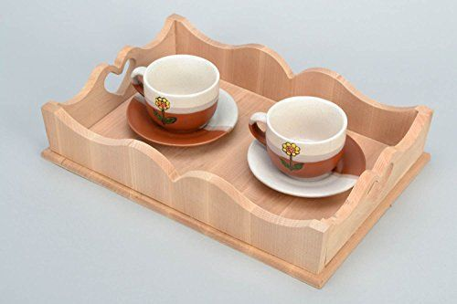 Unfinished Wooden Trays For Decoupage Decoration Fascinating Handmade Unfinished Wooden Tray Add An Elegant Touch Of Wood Style Decorating Inspiration