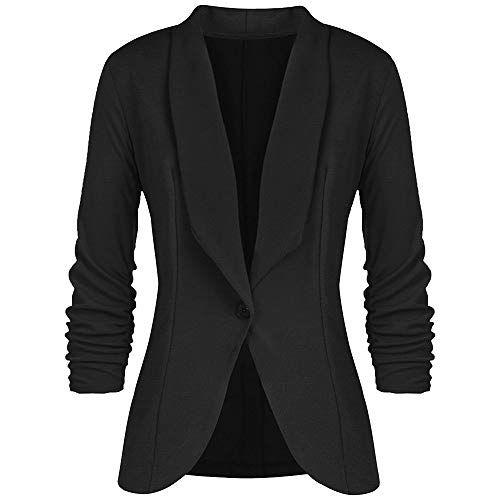 Veste de blazer noir femme