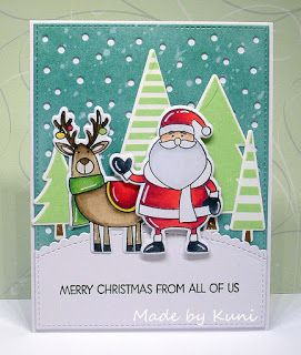 Send A Smile 4 Kids Challenge Blog Winners Announced For Happy Holidays 4 Kids Scene Cards Mft Cards Homemade Holiday Cards