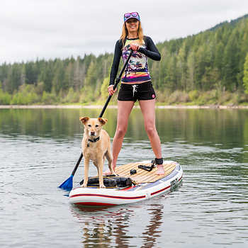 Hyperlite Admiral 11 Inflatable Stand Up Paddle Board Package Standup Paddle Paddle Boarding Paddle