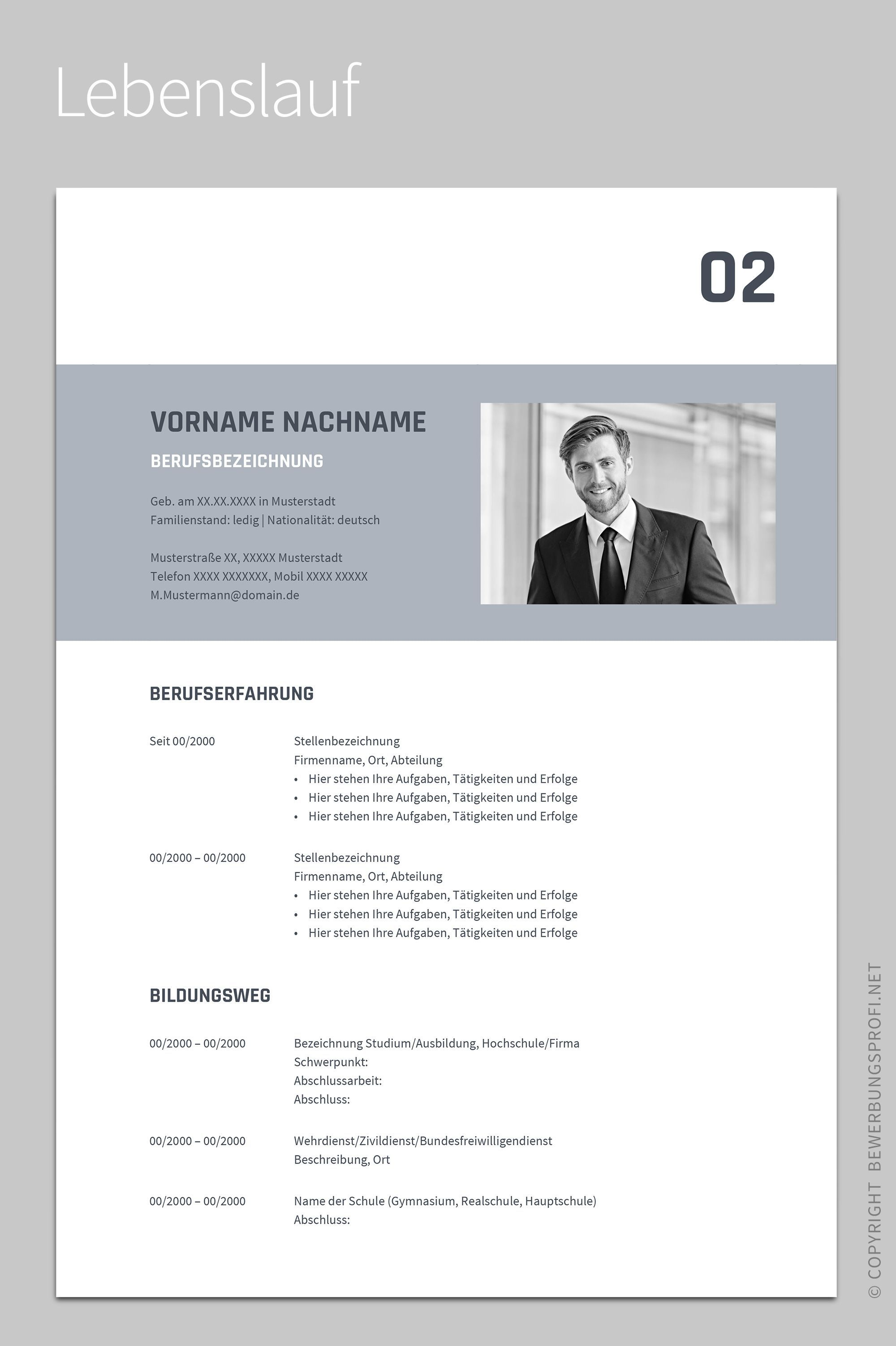 24+ Online Lebenslauf Design in 2020 (With images