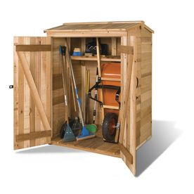 Pin By Adam Novak On Diy Backyard In 2020 Shed Storage Wood Storage Sheds Small Outdoor Storage