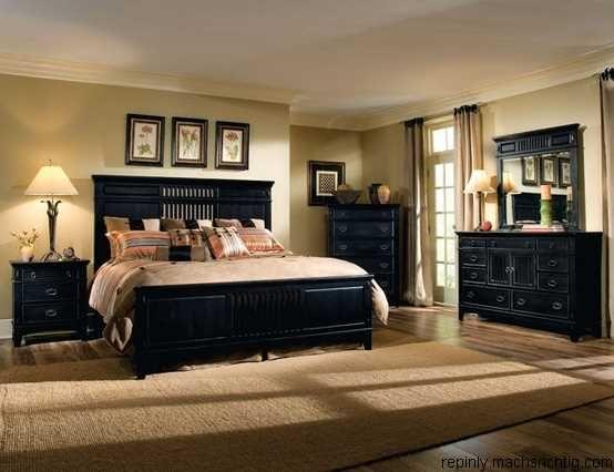Black Bedroom Furniture Home decor Pinterest Bedroom, Black