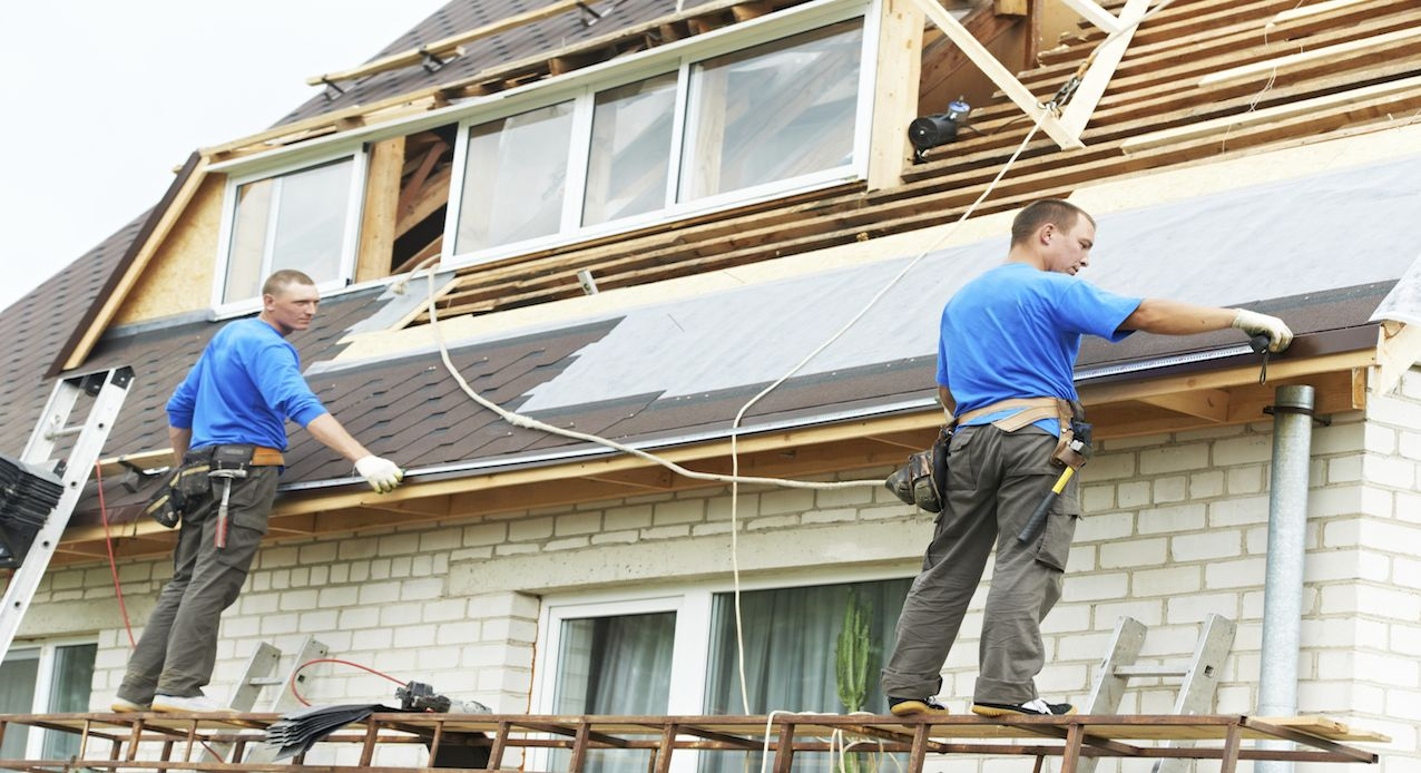Exterior Renovation And Repair Lowesforpros Roof Restoration Residential Roofing Roofing Contractors