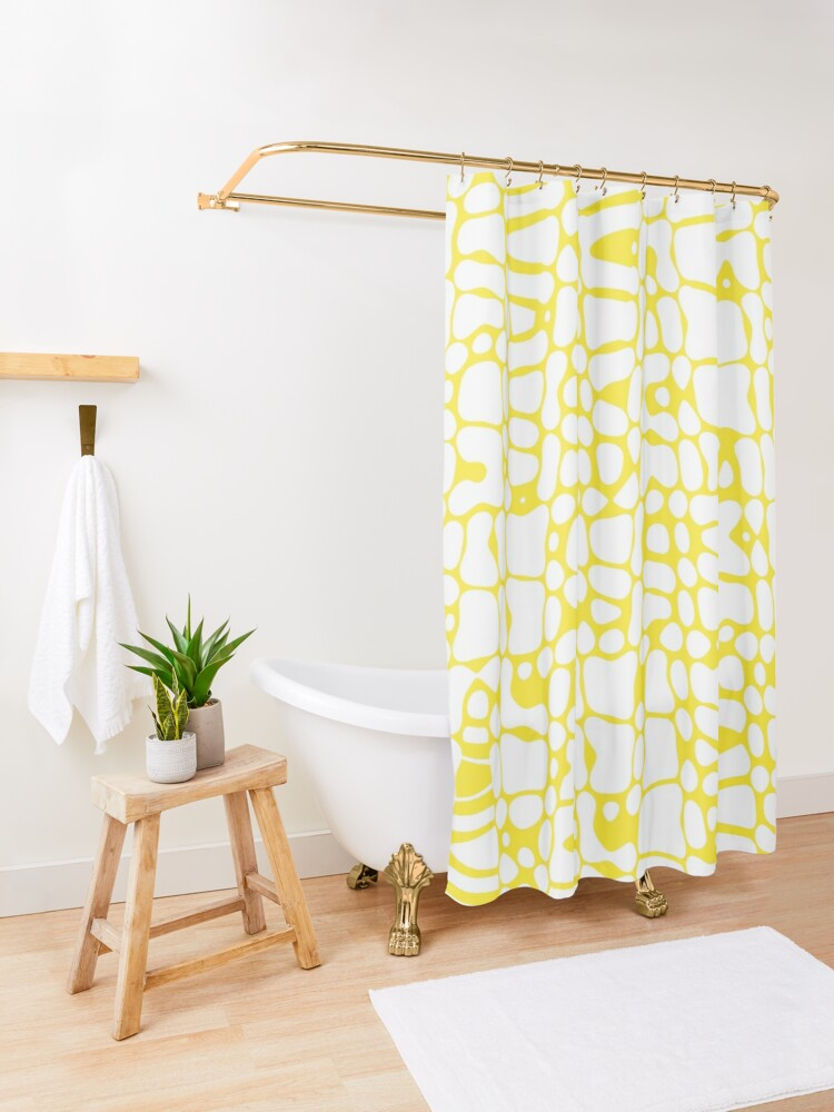 Curtains White Shower Curtain, Yellow And White Shower Curtains