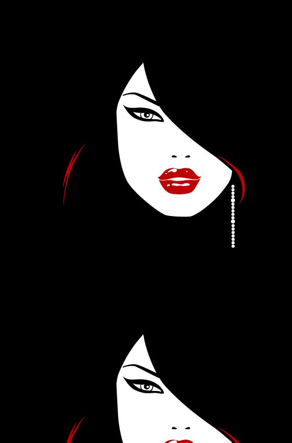 Tube Vector Woman Style Png 593 900 Silhouette Art Art Girl Female Art