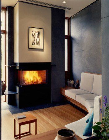 Photo Paul Warchol Indoor Fireplace House Inspiration House