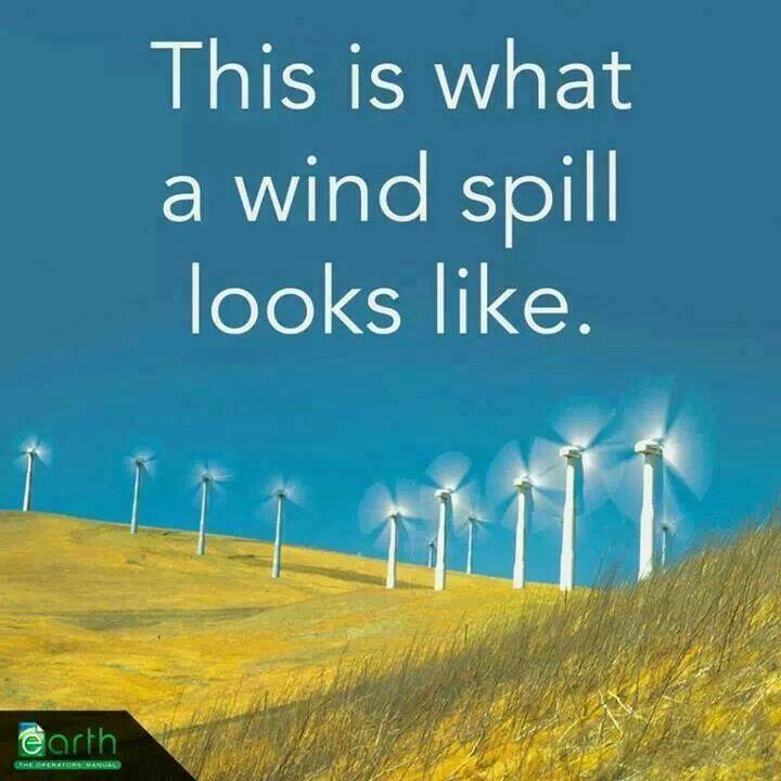 Wind is free