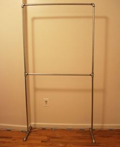 Home Depot Garment Rack Gorgeous Diy Pipe Clothing Rack  Bedroom  Pinterest  Diy Pipe Pipes And Decorating Inspiration