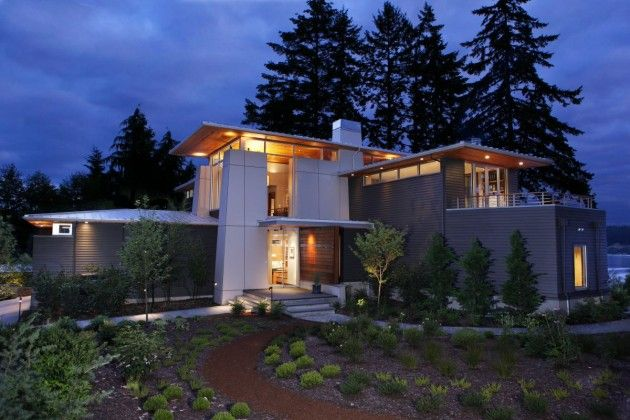 BCJ Architecture have designed the Olympic View House located on