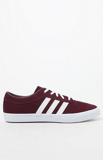 online retailer 74697 628f8 adidas Women s Maroon Sellwood Sneakers at PacSun.com