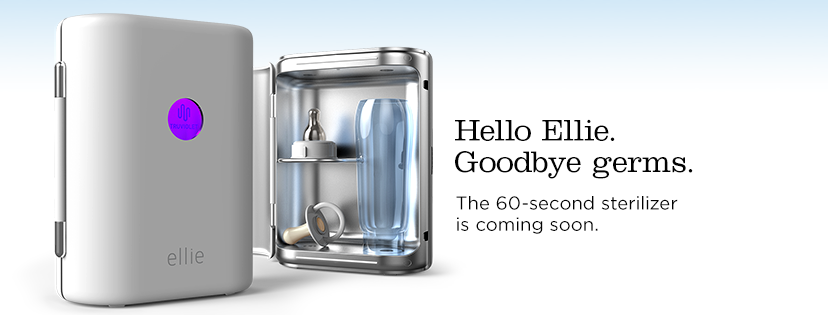say goodbye to germs in just 60 seconds with ellie