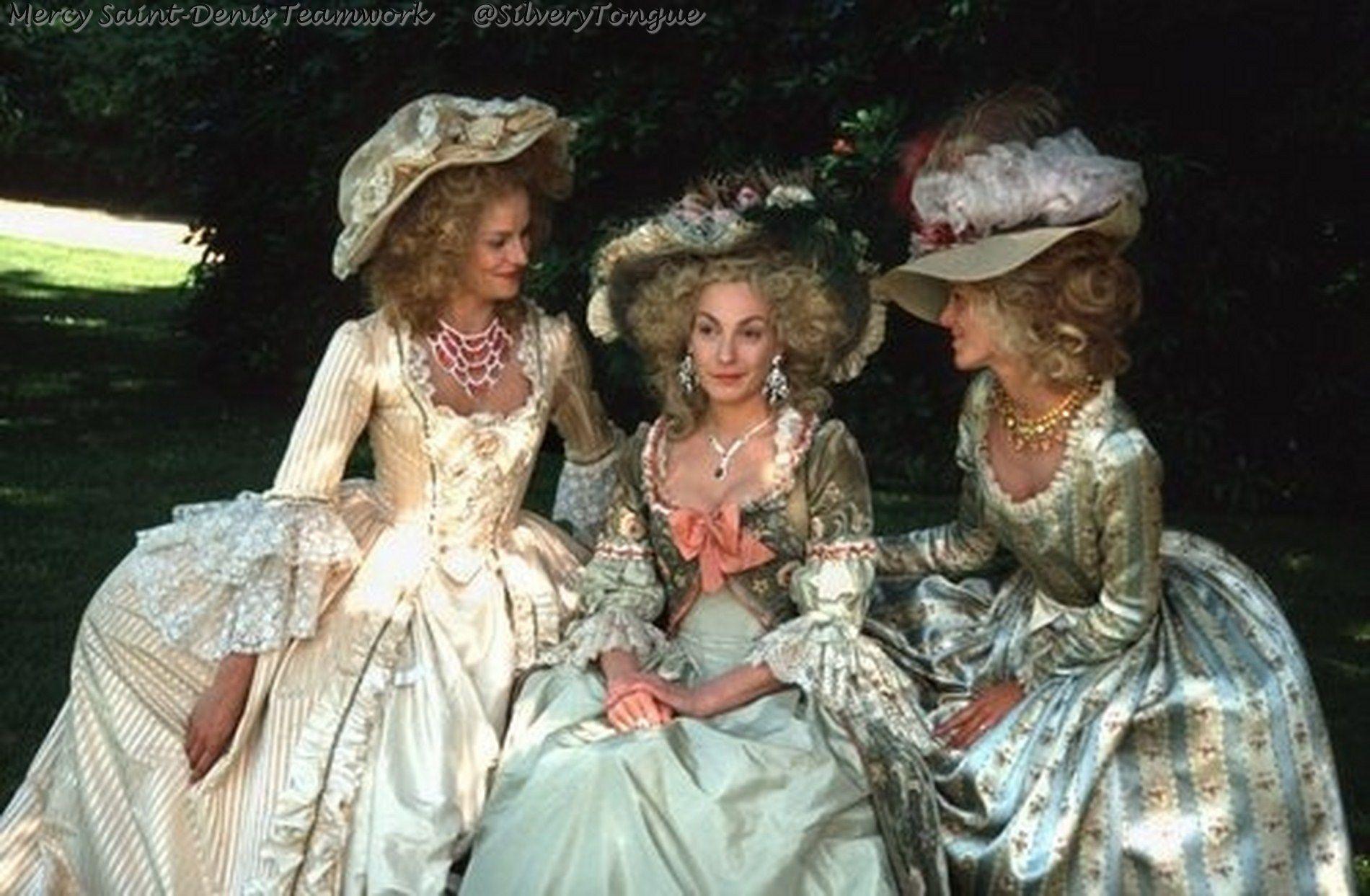 L'autrichienne (1990) - Ute Lemper as Marrie Antoinette. | 18th century  fashion, Historical dresses, 18th century costume