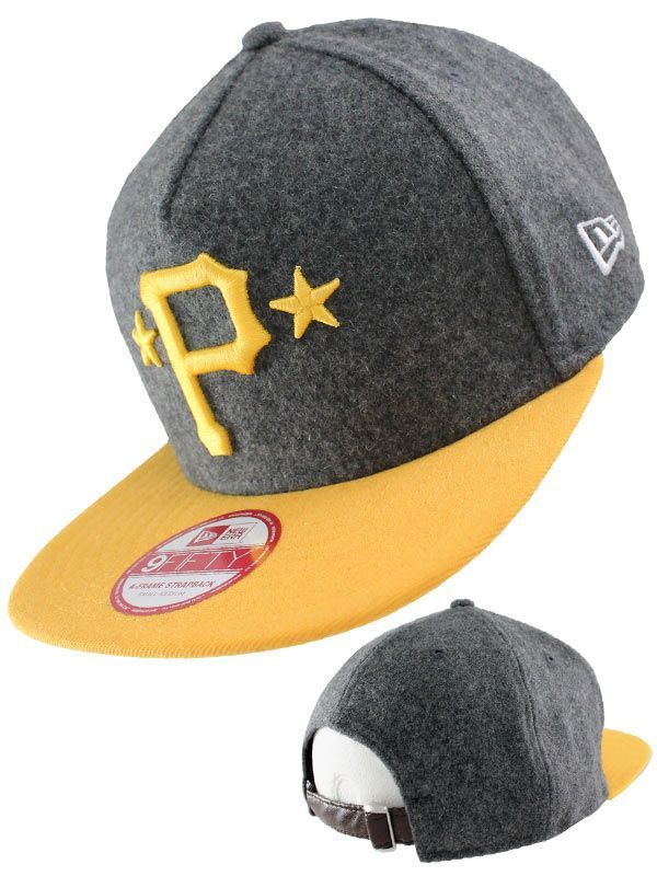 release date 9c247 d84ee Casquette Strapback New Era - Casquette Pittsburgh Pirates 9FIFTY New Era  Classic Melt.