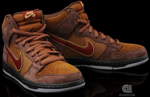 "pretty nice 35838 0afc0 SPoT x Todd Bratrud x Nike SB Dunk High ""Cigar"""