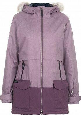 cfc0a7de296 Куртка утепленная женская Columbia Catacomb Crest сиреневый цвет - купить  за 19999 руб. в интернет