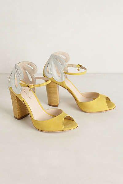 2647792e5b5 Lemon Daisy Heels | Shoes heels boots wedges flats | Wedding shoes ...