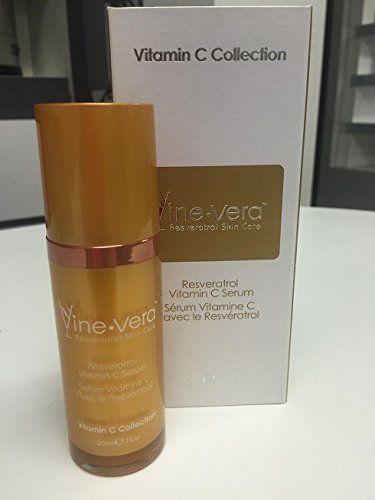 Boost Your Morning And Evening Skin Care Routine With Resveratrol Vitamin C Serum Vinevera Vine Vera Resveratrol Wine Gift Set Grape Skin