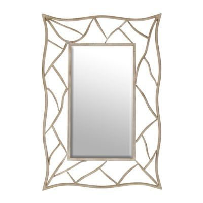 Kirkland S White Mirror Frame White Distressed Frame Mirror Frames