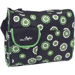Baby Ziggles Trendy Firework Print Design Diaper Bag, Black/Green, $19.98 Wal-Mart