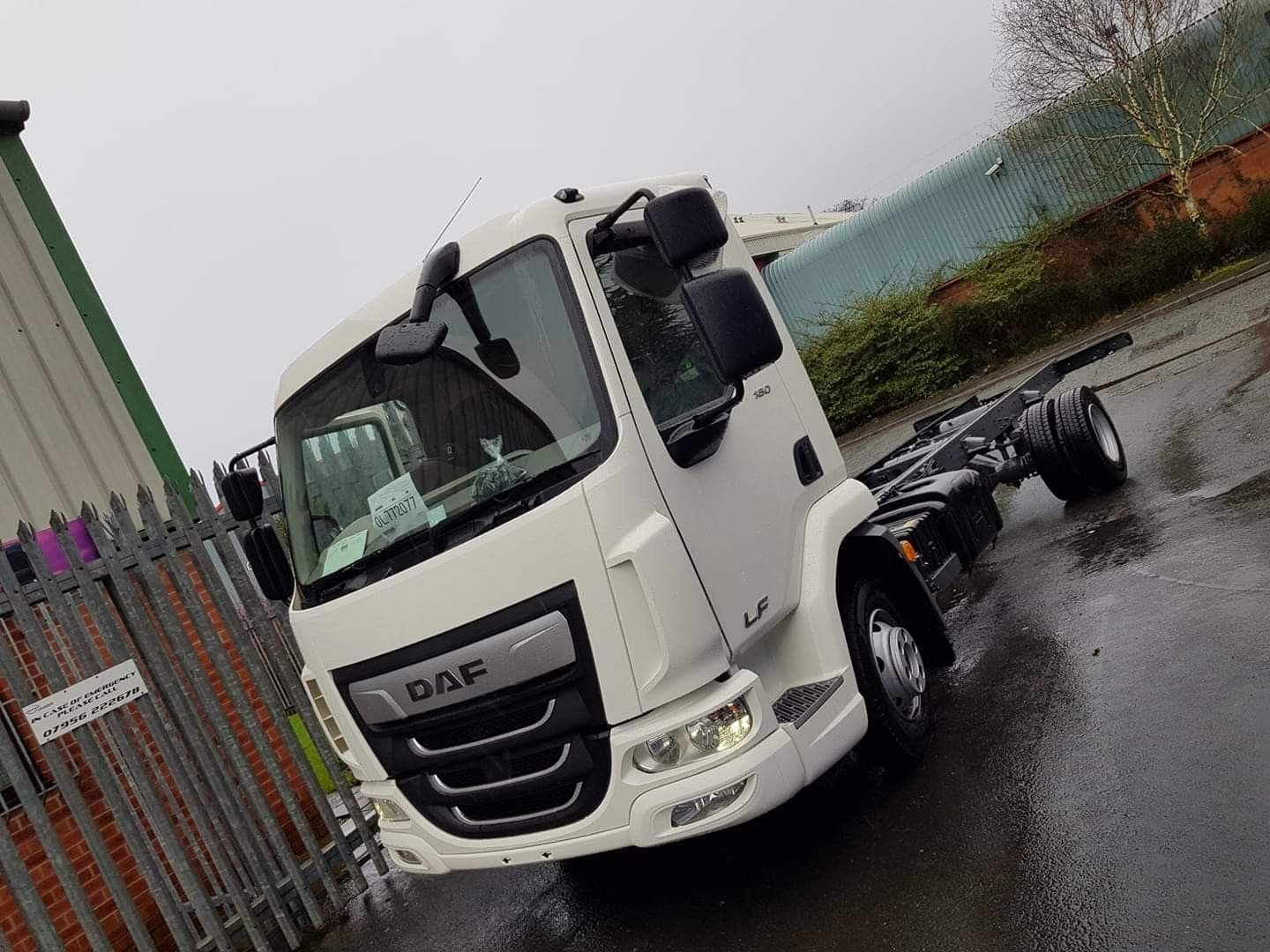 Helios #horsebox to be - new DAF LF auto chassis  | KPH Helios 7 5