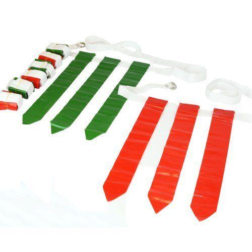 Green Red 36 Flags 12 Belts Velcro Flag Football Set Flag Football Best Flags Red Flag