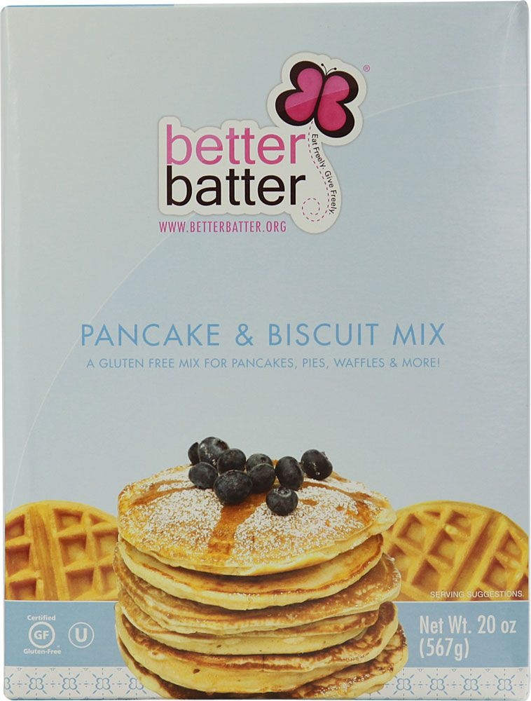 Better batter pancake and biscuit mix gluten free gluten free foof better batter pancake and biscuit mix gluten free ccuart Image collections